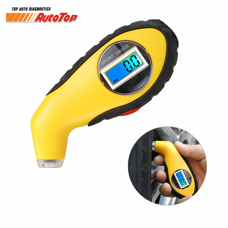 New Arrival Tire Pressure Gauge Meter Manometer Barometers Tester Digital LCD Tyre Air For Auto Car Motorcycle Wheel Tire Tester