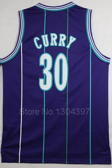 6c2a8a6a235 Charlotte Hornets Jersey Throwback Basketball 1 Tyrone Muggsy Bogues 2  Larry Johnson Dell Curry 33 Alonzo Mourning 41 Glen Rice-in Basketball  Jerseys from ...