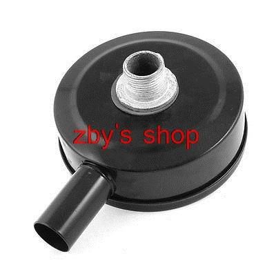 32mm 1 1/4 Thread Inlet Air Compressor Metal Muffler Filter Silencer air compressor o ring 1 2pt thread oil level sight glass