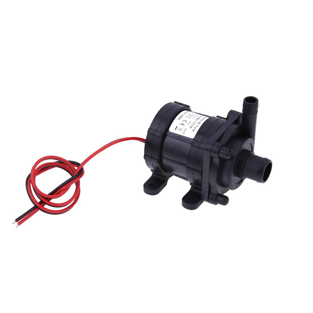 цена на Mini Electric Brushless Water Pump DC 12V 6m 500L/H Ultra Quiet Aquarium Pump Motor Submersible Swimming Pool Water Pump