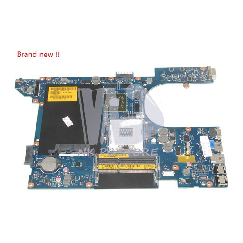 NOKOTION Brand New For Dell Inspiron 15R 5520 Laptop Motherboard QCL00 LA-8241P CN-06D5DG 06D5DG Main Board DDR3 HD7670M nokotion cn 0n35x3 0n35x3 laptop motherboard for dell 15r 5520 notebook pc main board system board la 8241p ddr3