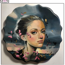 DIY Diamond Painting Cross Stitch Flower Bathing Beauty Diam