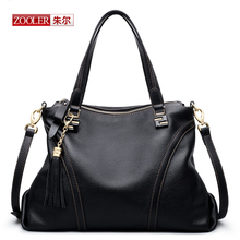 ZOOLER New arrival 2016 Genuine leather Handbags lady Real leather high quality tote bag luxury leather bags #BC-8113