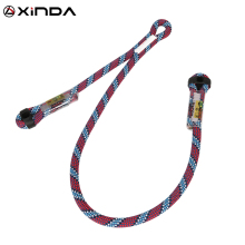 Professional Rock Climbing Supplies High Altitude Anti Fall Off Protective Safety Belt Cowstail High Strength Wearable