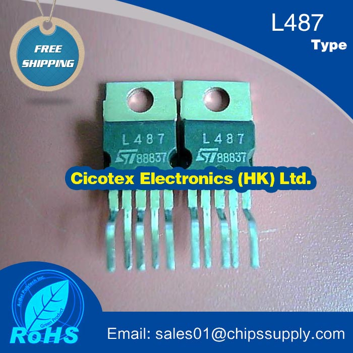 5pcs/lot Electronic components L487 Transistor TO220-5