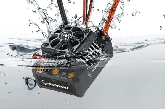 Hobbywing ezrun max6-/max5 V3 160a/200a controlador de velocidad impermeable sin escobillas ESC Motores ESC controlador de velocidad
