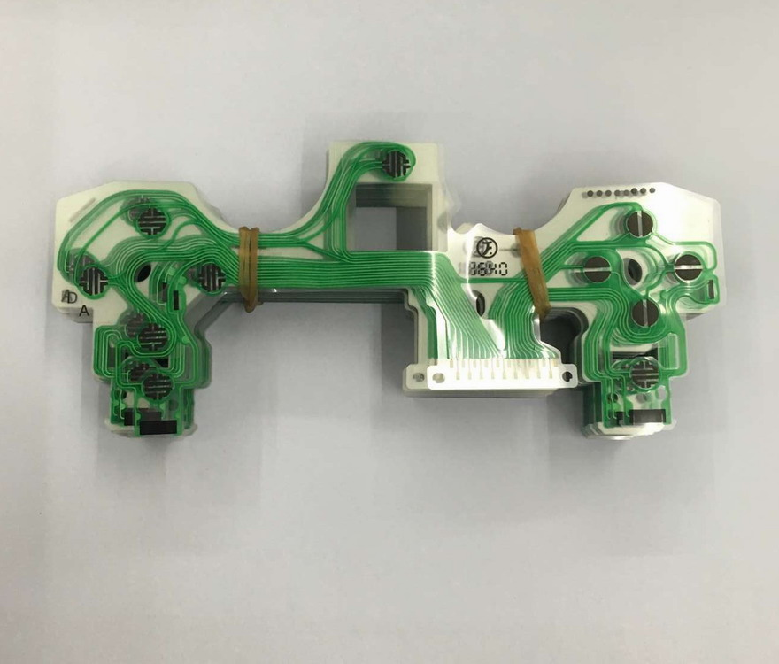 100pcs lot original for ps4 jdm 040 new type controller keypad button film ribbon flex cable