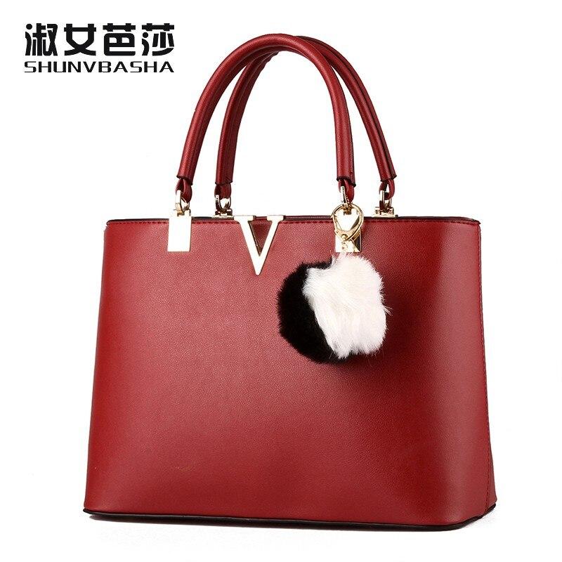 ФОТО SNBS 100% Genuine leather Women handbags 2017 New Female Korean sweet lady fashion handbag Messenger shoulder bag