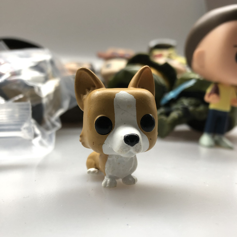 Funko Used Mystery Minis: Royals Queen Elizabeth II - Dog Corgi Puppy Pet Vinyl Figure Collectible Model Toy No Box