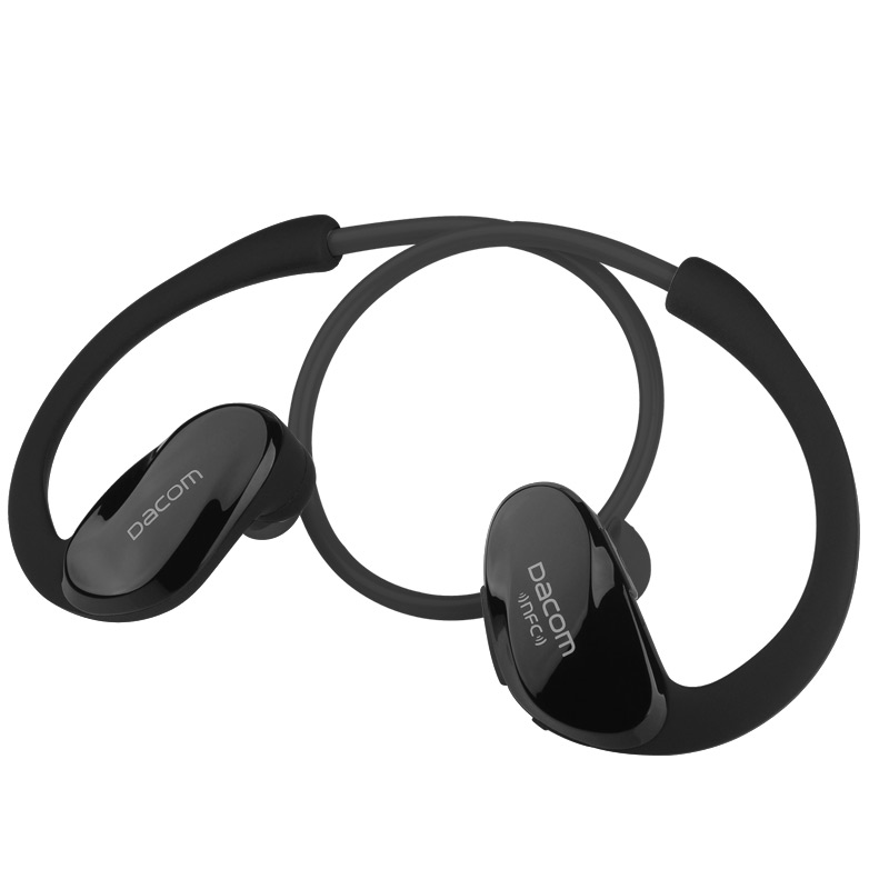 цена на Dacom G05 With NFC Sweatproof Wireless Headphones Bluetooth Headset Bluetooth Earphone fone de ouvido hands free For Iphone