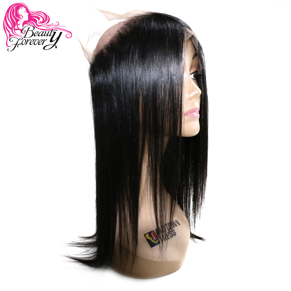 Beauty Forever 360 Lace Frontal Brazilian Straight Hair