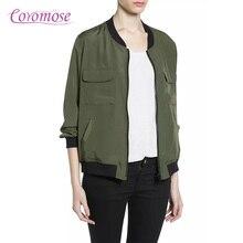 2016 ultra light down jacket women Autumn Winter Army Green Coats Bomber Jacket Women Basic Coats O-neck Coat Double-side Bomber