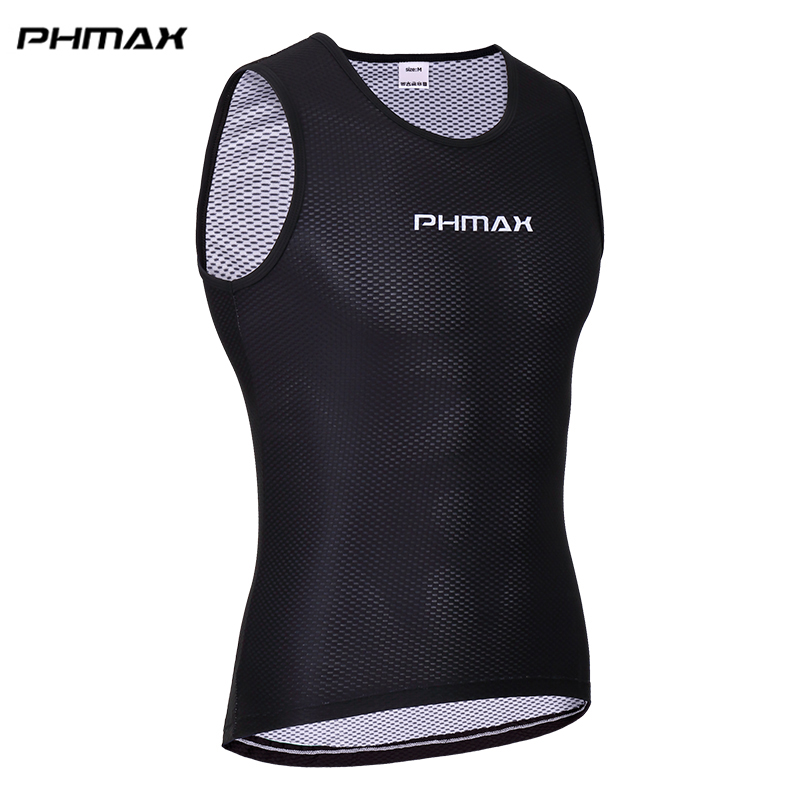 PHMAX Pro Cycling Base Layer Bike Clothes Wear Cycling Jerseys Compression Sports Tight Shirts Cycling Bicycle Clothing For Mans
