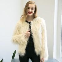 Women New Faux Fur Coat