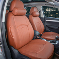 PU leather car seat cover for Dodge Avenger seat covers set for cars accessories custom seat cushion supports cover set headrest