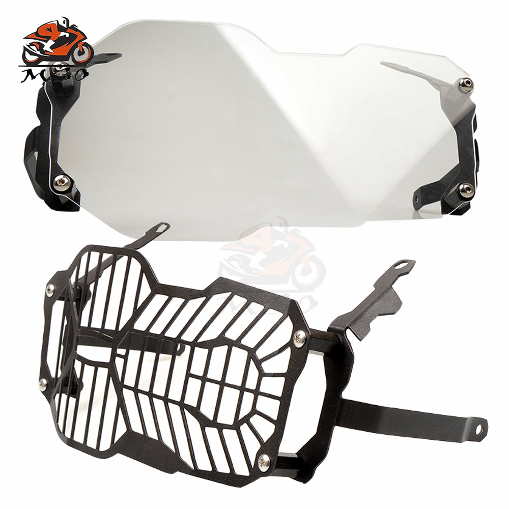 New CNC Motorcycle Headlight Guard Protector For BMW R1200GS R 1200 R1200 GS LC Adventure Headlight