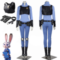 MMY anime Movie Zootopia Cosplay Judy Hopps Zootopia Costume Women Halloween Carnival Cosplay Costume Outfit Custom Made cartoon
