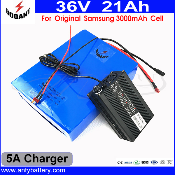 1000W Bicycle Battery 36V 21AH For Bafang BBS Motor With 5A Charger Scooter Lithium Battery 36V For Original Samsung 18650 Cell 30a 3s polymer lithium battery cell charger protection board pcb 18650 li ion lithium battery charging module 12 8 16v