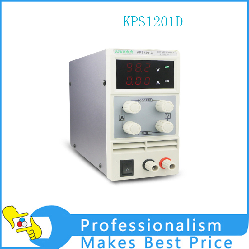 KPS1201D Adjustable High precision double LED display switch DC Power Supply protection function 120V1A 110V/220V 0.1V/0.01A EU switch power kps3010d adjustable high precision double led display switch dc power supply protection function 30v10a 110v 230v