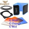 KnightX Окончил Красный объектив cokin серии p цвет фильтр для Nikon Canon Sony A350 A230 A330 A580 52 мм 55 мм 58 мм 62 мм 67 мм 77 мм
