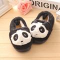 Fashion Boys girl shoes plush Kids Slippers Household Wooden Floor Bedroom Baby Warm Cute Panda Children Cotton casual Shoes