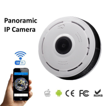 Wireless 360 Degree Panorama Camera Wifi 960P HD IP Camera P2P Cam CCTV Network Indoor Home Camera H.264 Security Surveillance