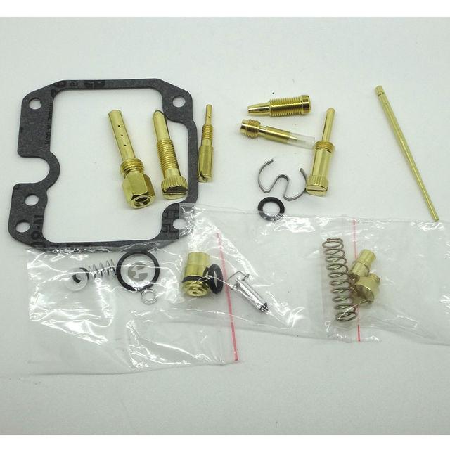 Kawasa ki KLF250 Bayou 2003-2006 Carburador Carb Reconstruir Kit de Reparação KLF Bayou 250 2006 Kawasa ki 250 KLF250A