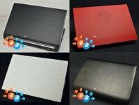 KH Portátil Cocodrilo piel de Serpiente De fibra de Carbono Cubierta de la Etiqueta Engomada Protector para Lenovo Ideapad 100 S 110 S 11 11IBR 11.6