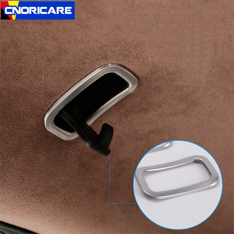 Car Styling Rear Hook Frame Decoration Sticker Trim For <font><b>Mercedes</b></font> Benz <font><b>S</b></font> <font><b>Class</b></font> <font><b>W222</b></font> 2014-17 Interior Decals image