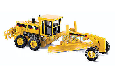 1/87 Norscot 55127 American Construction Equipment - CAT 160H Motor Grader Construction vehicles toy norscot 1 50 siecast model caterpillar cat ap655d asphalt paver 55227 construction vehicles toy