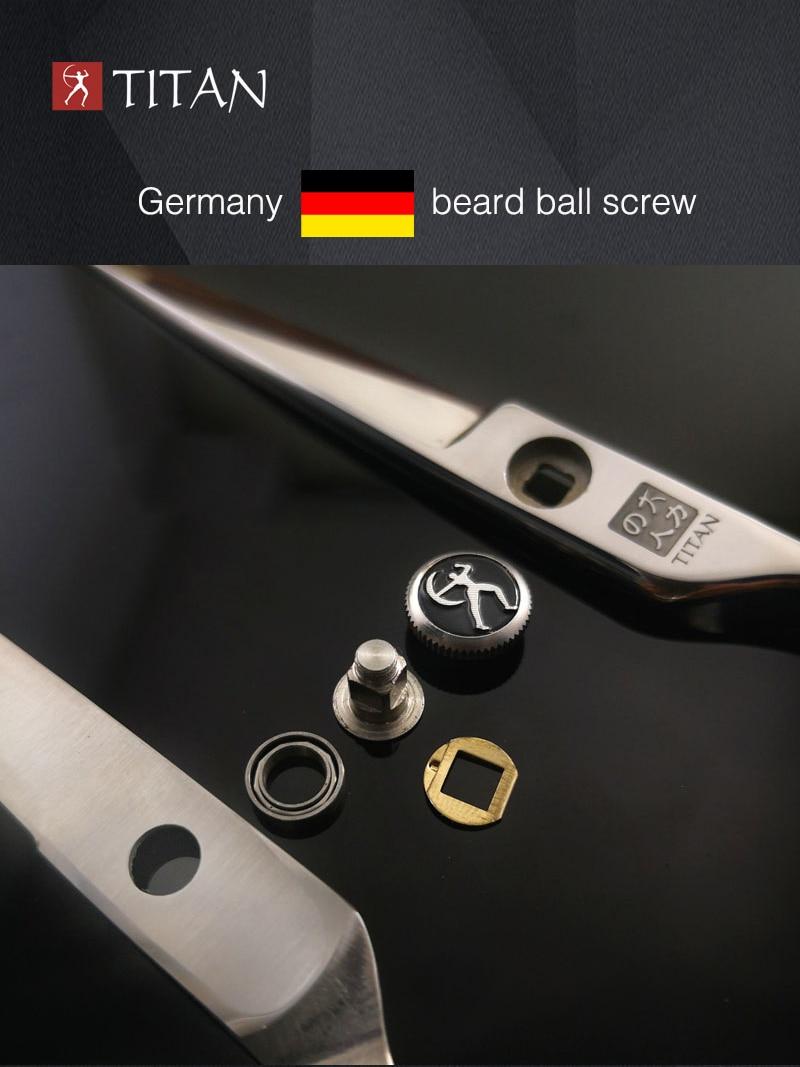 gratis forsendelse Professionel hårsaks TITAN 6.0inch barber - Hårpleje og styling - Foto 4