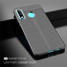 For Cover Huawei P30 Lite Case Luxury Soft Silicone Rubber Phone Back Fundas^