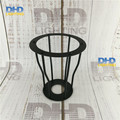 Free shipping D150mm*H170mm E27 lamp shade black finished iron cage edison lamp shade