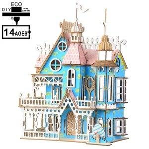 3D Wooden Puzzle Kids Toys Jig