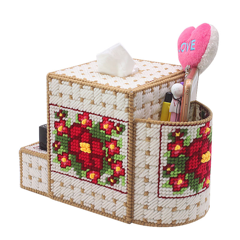 Home & Garden Embroidery Storage Bag Diy 3d Cross-stitch,storage Box,jewelry Box,chinese Cross Stitch has Been Cut Z51d