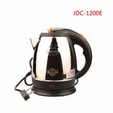 Беспроводной Электрический чайник из нержавеющей стали 1200E 1,2 л, 220 В, 1360 Вт, портативный дорожный котел для воды