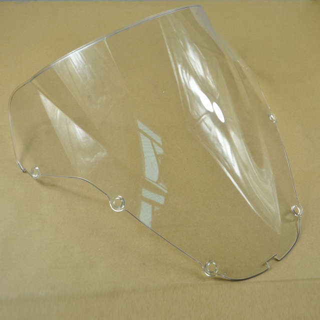 Black / Transparent Color Motorcycle Covers Windshield Motorbike Windscreen For HONDA CBR 600 F4 2000 2001 2002 00 01 02