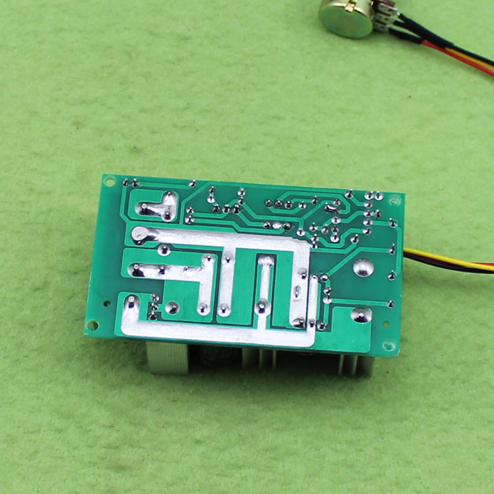 Cnikesin Ic Module Dc Motor Speed Governor 12v24v36v48v Large Power Pwm Controller Drive 20a F7a3 In Integrated Circuits From Electronic Components