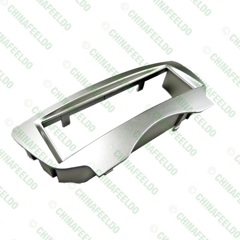 FEELDO серебряный Автомобиль Радио Стерео 1DIN фасции панель и установка рамка Переходная для BYD F0 2012# AM2188