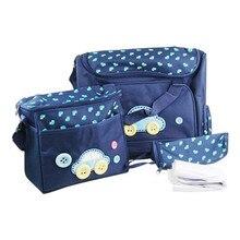 Insular multifuncional coche de la manera bolsas de la madre del pañal del bebé pañal organizador para mamá momia bolso de la momia cuidado del bebé