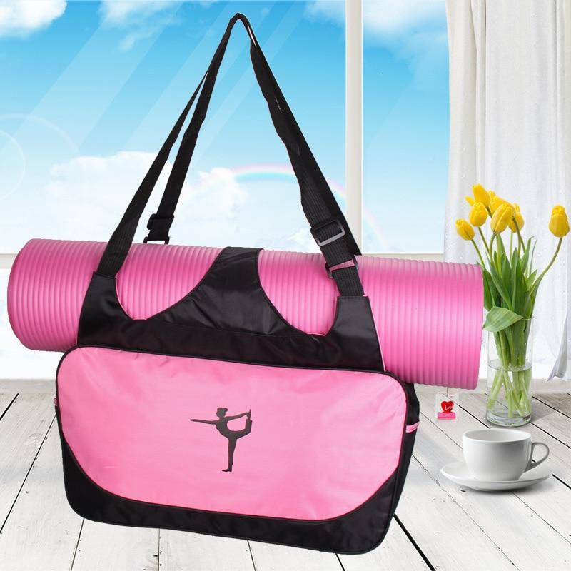 Yoga Mat Bag Waterproof Backpack Shoulder Messenger Sport