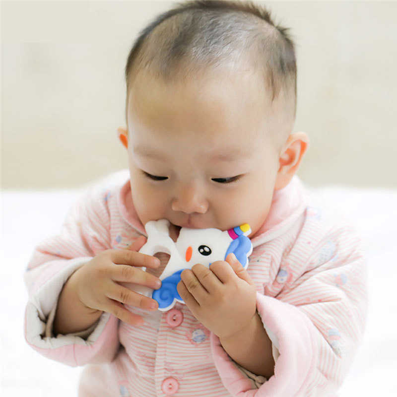 Koala mordedor de silicona juguete de dentición cuentas para mordedores de bebés DIY Collar para morder herramienta de cuidadora colgante de silicona de grado alimenticio