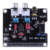 16-32Bits 112dB HIFI DAC Audio Soundkarte Modul I2s-schnittstelle mit Led-anzeige für Raspberry Pi B + für Raspberry Pi 2 Modell