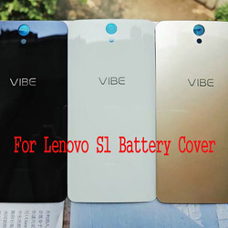 For Lenovo Vibe S1 A40 S1a40 Tempered Glass Case for Lenovo S1C50 Back Battery Cover Housing Replacement Parts