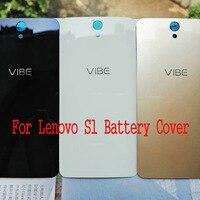 For Lenovo Vibe S1 A40 S1a40 Tempered Glass Case For Lenovo S1C50 Back Battery Cover Housing
