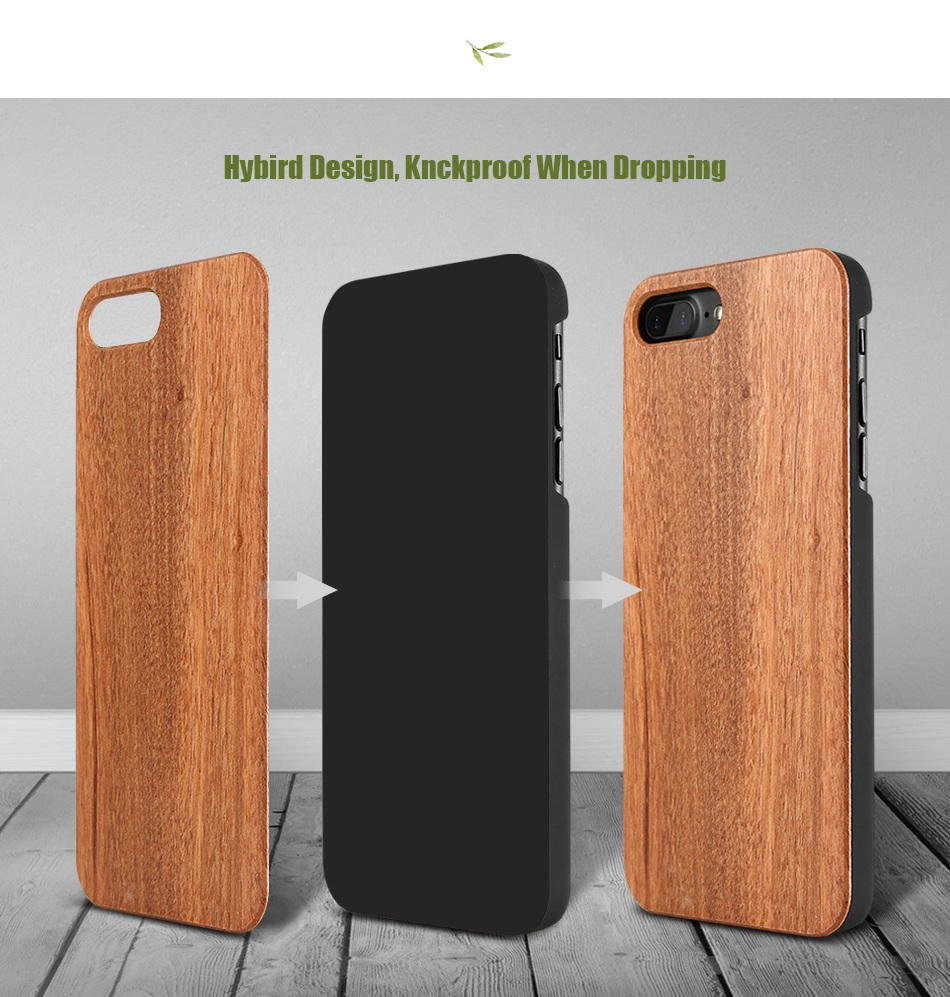 For iPhone 7 iPhone 7 Plus Case Natural Bamboo Wooden Phone Cases For iPhone 6 6S Plus 6 Plus (6)