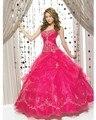 Venda quente strapless vestidos de 15 años 2017 bordados a line vestidos de quinceaneras 2017 organza vestidos quinceanera oq43080