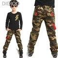 Большие Мальчики Спортивные Брюки Мода Марка Детская Одежда Повседневная Хлопок Высокого Качества Детской Одежды Новый Стиль Мальчик Камуфляж Брюки