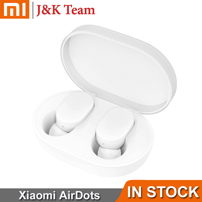 Instock Xiaomi Airdots Bluetooth 5 0 Xiaomi Wireless earphone 12 Hours Working Time Voice control Noise