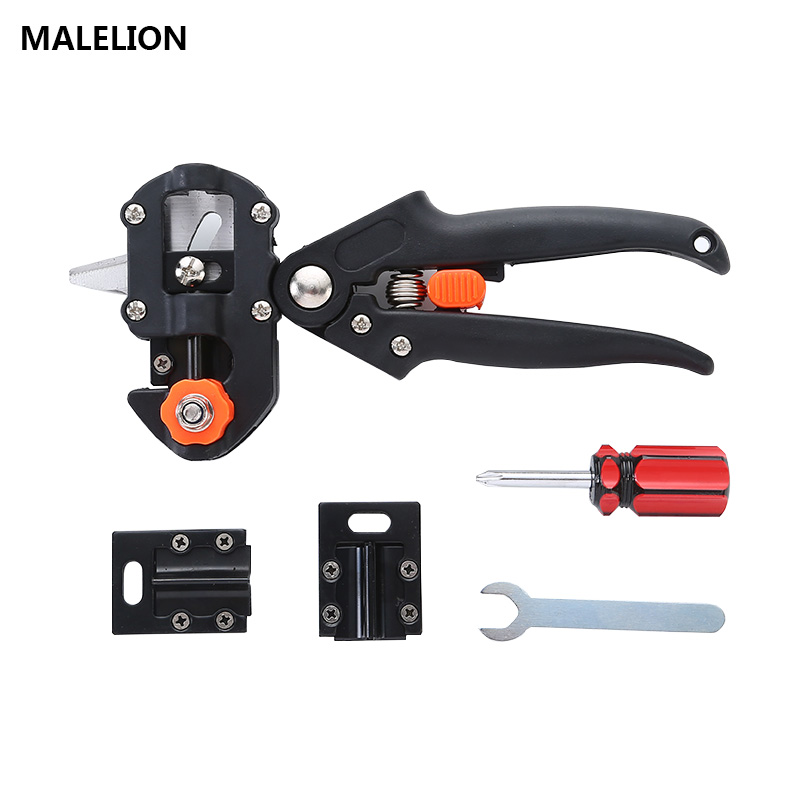 Black Baged Set Pruning Cutting Shears Boxes Grafting Shears Tree Pruning shears Garden shears Cutting Machine Steel Garden Tool цена